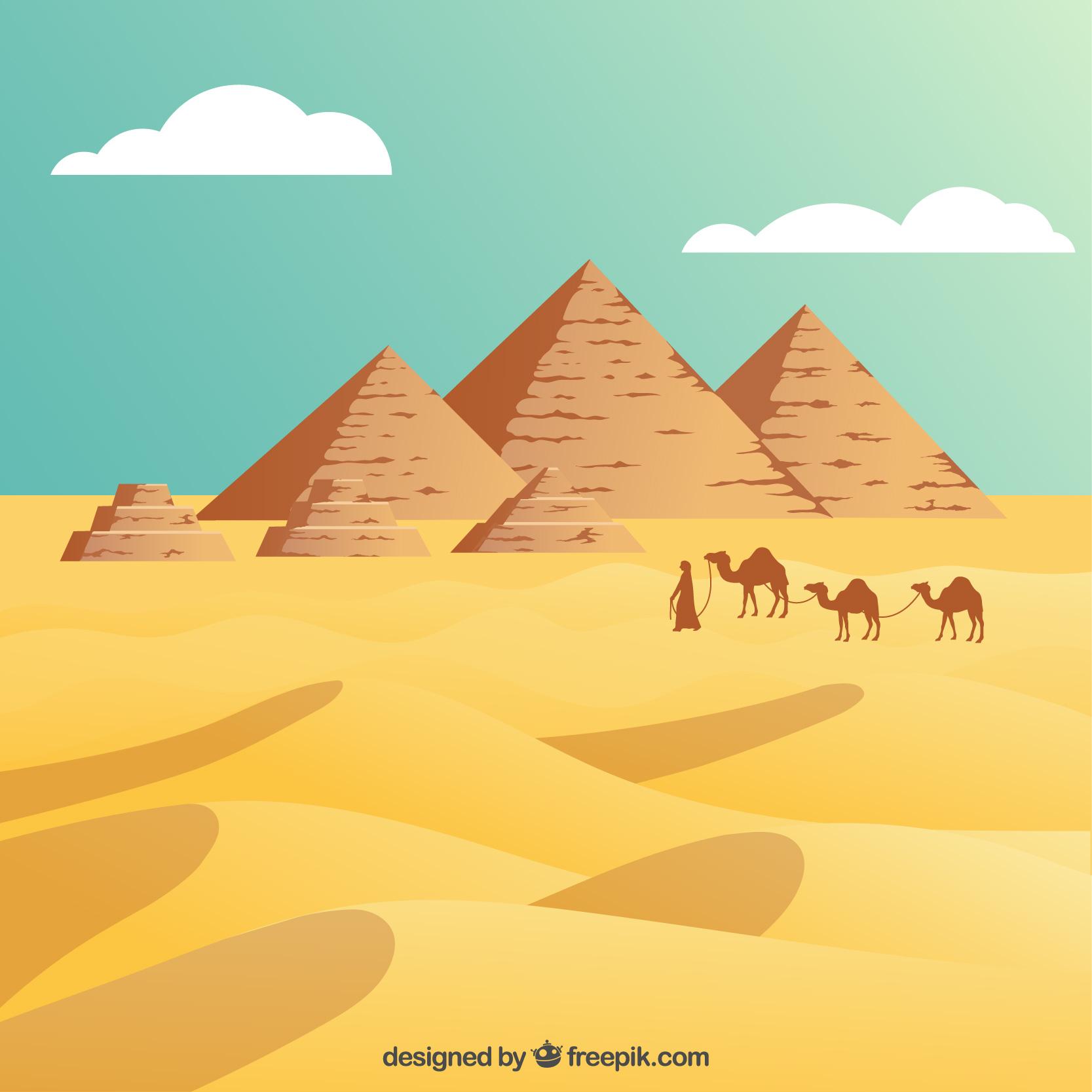 Le voyage en Égypte avec un petit incident